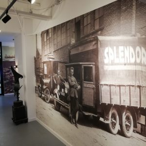 Splendorflex Cowork flex werkplekken in de Splendorfabriek - entree