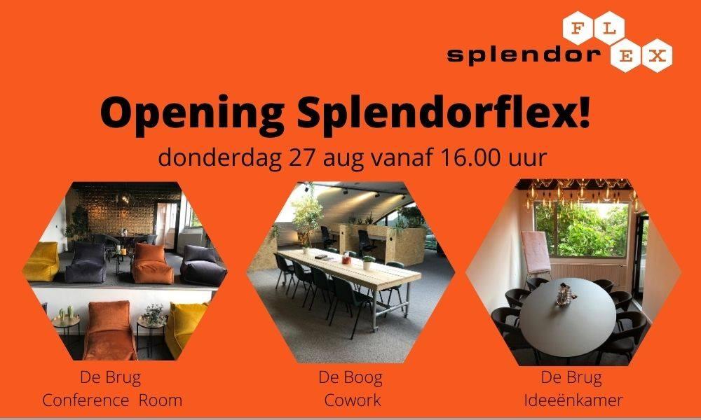 Opening Splendorflex 28-08-2020