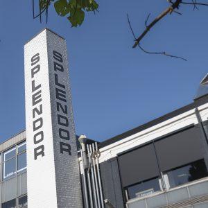 Splendorfabriek schoorsteen Nijmegen