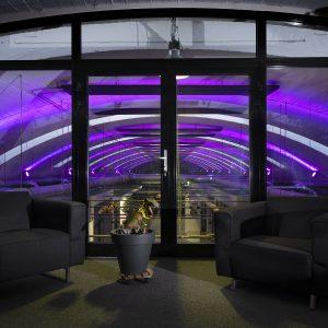 Splendorflex De Boog Coworkingspace by night